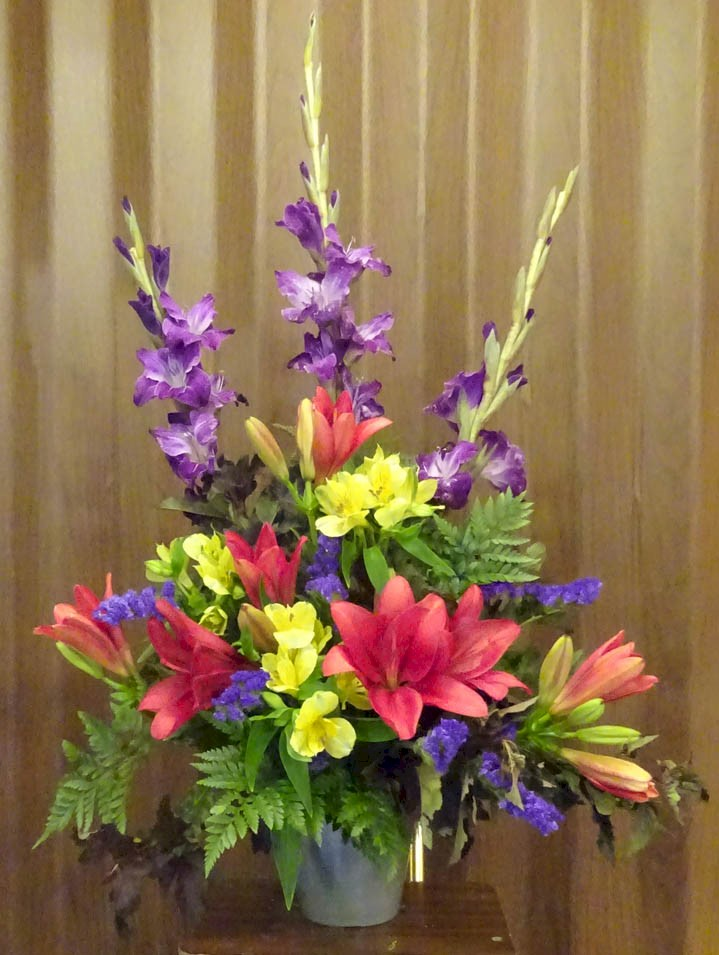 Flowers from Peggy Hauk Families