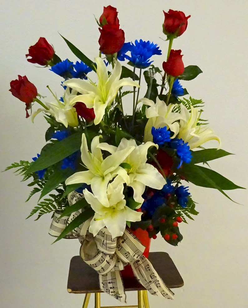"Flowers from Your ""Crooner"" Family"