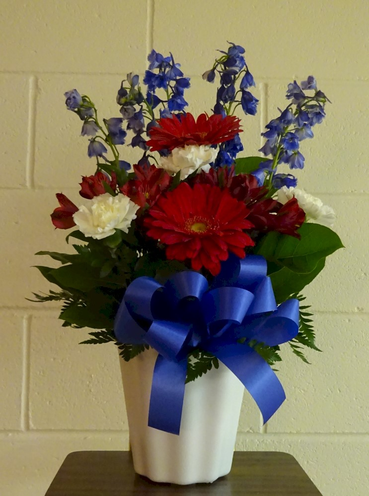 Flowers from Kadoka Area School Board, Staff, and Students