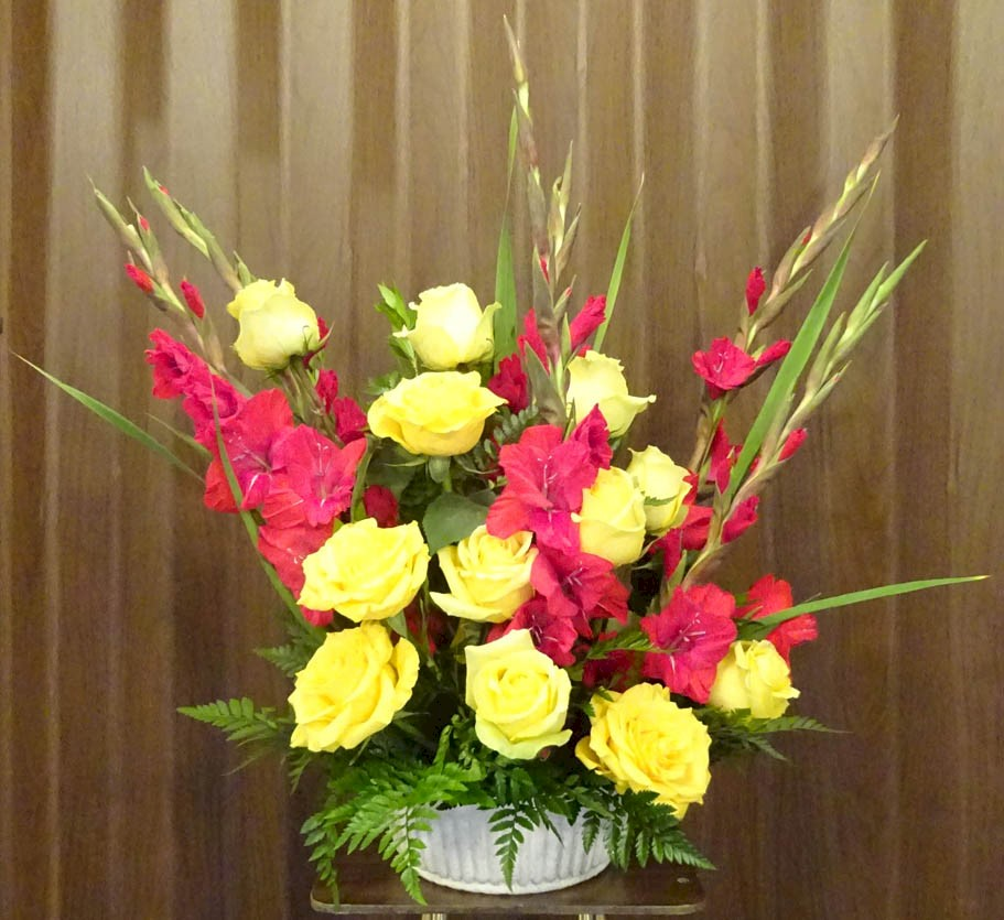 Flowers from West River Electric Association Directors, Staff, and Employees