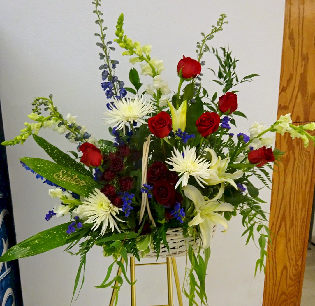 "Flowers from ""Sister"" - Jerry & Lu, Chad, Paulette & Family, and Dustin, Carrie & Family"