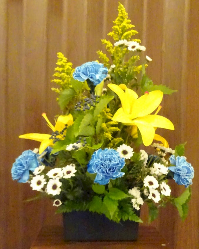 Flowers from Transportation Inventory Management Staff