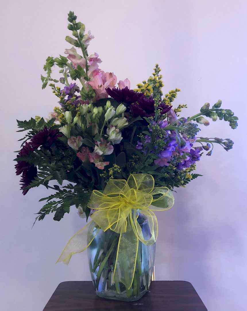 Flowers from Your church family at the Evangelical Free Church