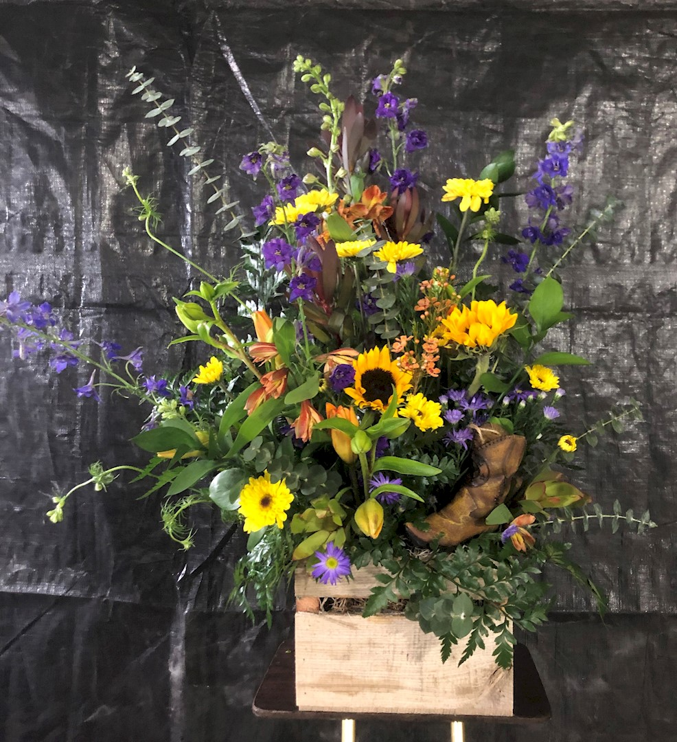Flowers from Philip Livestock Auction